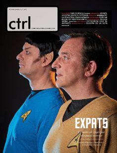 La revista Ctrl viaja al espacio exterior