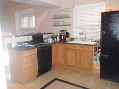 #DIY Kitchen Cabinet Redo