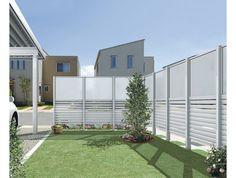 Outdoor Spaces, Outdoor Decor, Fence, Terrace, Garage Doors, Exterior, House Design, Home Decor, Note
