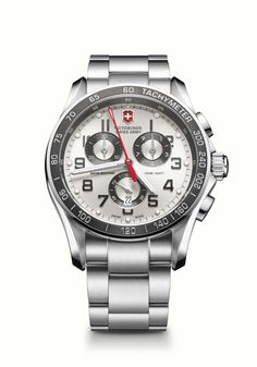 Victorinox Swiss Army Chrono Classic XLS 241445 I've yet to see one in person, though at 45mm it may be a little too big for my taste. Still, it's got a decent quartz movement and a nice clean look.