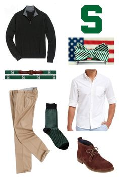 How to Dress for a Michigan State Game
