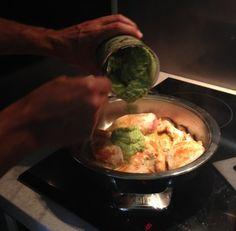 Penne z kurczakiem w sosie brokułowo bobowym Zregeneruj się i doładuj energią - SMACZNEGO :)