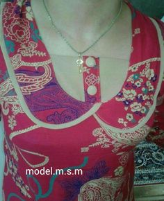 Salwar Neck Patterns, Couture, Diy And Crafts, Women's Fashion, Chain, Jewelry, Dresses, Design, Vestidos