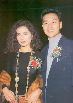 Leslie Cheung_ Cherie Chung