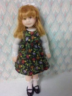 Miniature Doll LITTLE GIRL by Sharon Spindler in Artist Offerings | eBay
