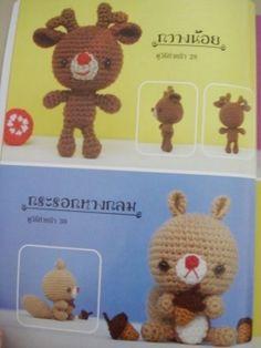 Cute Reindeer and Beaver Amigurumi - FREE Crochet Pattern and Tutorial