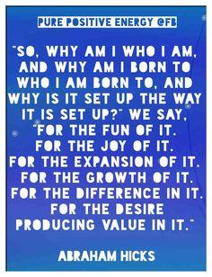 Abraham-Hicks Quotes - desire producing value