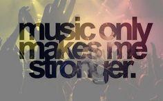 #music #stronger