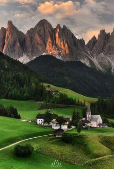 """Pearls of Italy"" by Massimo Pistone at S.Maddalena,Val di Funes,Alto Adige"