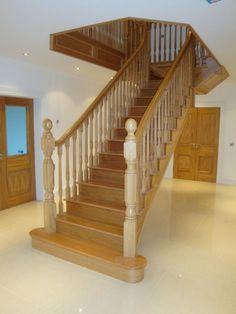 Oak Stair Treads - http://memdream.com/wp-content/uploads/2015/01/Stunning-Oak-Stair-Treads.jpg - http://memdream.com/oak-stair-treads/