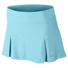 You'll love the longer length! The Nike Women's Four Pleated Knit Tennis Skirt in stunning Glacier Ice Tennis Skirts, Sports Skirts, Tennis Clothes, Tennis Outfits, Tennis Wear, Golf Wear, Nike Tennis, Golf Attire, Golf Outfit
