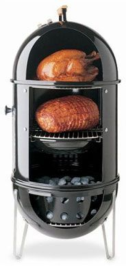 Best setup for a Weber Smokey Mountain and other charcoal bullet shaped smokers