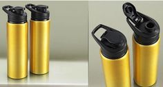 Celestial Stainless Steel Metallic Loop Bottle at Rs.225,  also get Free Shipping on opting for COD