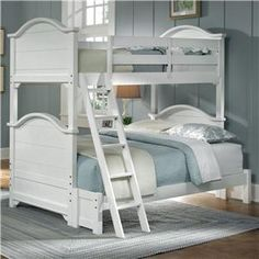 Bunk beds are a good way to make sure your family doesn't have to sleep on the floor when they come to town for the holidays.  Plus, kids just love 'em!