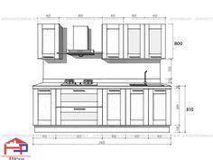 Chọn kích thước tủ bếp treo tường hợp lý nhất cho người sử dụng để có một không gian bếp thoải mái và cực tiện nghi cho gia đình. Click xem ngay
