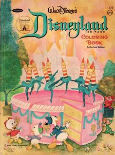 Vintage Disney 1967 The Happiest Millionaire Coloring Book New Saalfield WOW