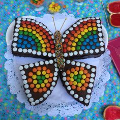 Torta de mariposa para Baby Shower