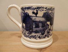 Emma Bridgewater Blue Hen 0.5 Pint Mug. Love this one!