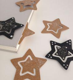 Lesezeichen aus SnapPap mit Silhouette Cameo Vorlage Stern: Silhouette Design S… Bookmark from SnapPap with Silhouette Cameo Template Star: Silhouette Design Store;