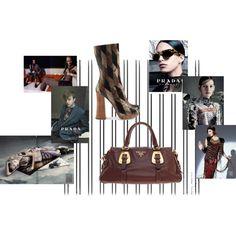 Prada Glam by pauvane on Polyvore featuring moda and Prada