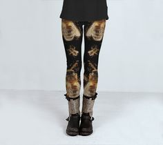 BLACK BEES Leggings by JUST3Js on Etsy