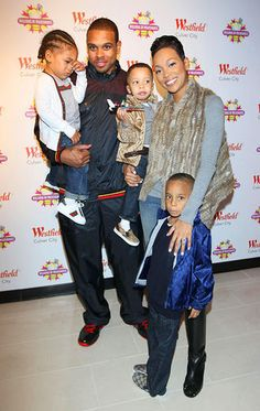 Shannon & Monica Brown With Their Children