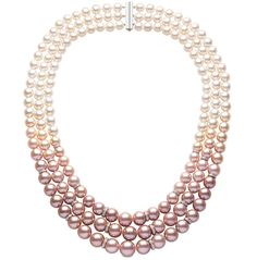 Blossom Necklace by Yoko London. Saw their original 8 string Blossom Necklace at the V&A once. I still dream of it.