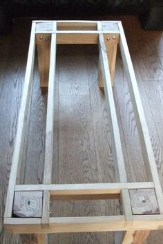 Pallet furniture plans step by step Pottery Barn 33 ideas, . - Pallet furniture plans step by step Pottery Barn 33 ideas, … Pallet furnitur - Easy Woodworking Projects, Diy Wood Projects, Woodworking Plans, Woodworking Machinery, Woodworking Shop, Woodworking Classes, Popular Woodworking, Woodworking Jigsaw, Woodworking Supplies
