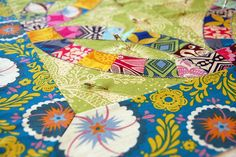 double wedding ring quilt | Delightful Double Wedding Ring Quilts - a gallery on Flickr