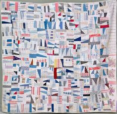 Barbara Brackman's MATERIAL CULTURE: Factory Cutaways and Quilts