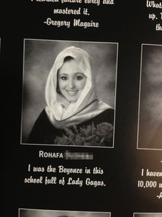 This girl who isn't afraid to call out basic bitches: | 23 Amazing And Inspiring High School Yearbook Quotes