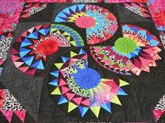 Fabrics 'n Flowers - new york beauty quilt