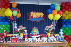 Super Herois para Arthur