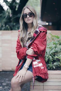 Look de Chantal Tru en colaboración con Tommy Hilfiger. Descubre más tendencias de moda de esta blogger mexicana.