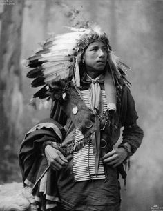 Crazy Bull, Oglala Sioux man. 1899 Heyn Photo