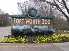Fort Worth Zoo is a very nice easy walk zoo with grandson