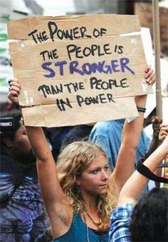 Designer: N/A Found in: Protest Signs I think the handwritten text makes the message more powerful and meaningful- that this is personal. Power To The People, We The People, Les Suffragettes, Handwritten Text, Protest Signs, Protest Posters, Political Signs, Protest Art, Political Art