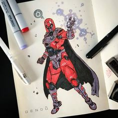 Who is your favorite?.By @bolinskidesign...#thanos #avengers #spiderman #spidermanfarfromhome #venom #captainamerica #gambit #wolverine ....comics_hall is sharing instagram posts and you can see pictures video posts and on this media post page. Marvel Cartoons, Marvel Comics, Wolverine Comics, Avengers Drawings, Character Art, Character Design, Copic Marker Art, Marvel Art, Art Sketchbook