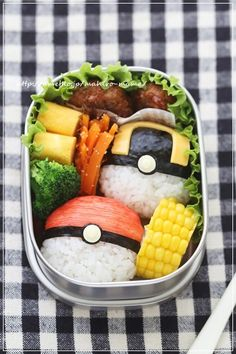 Pokemon Monster Ball Bento