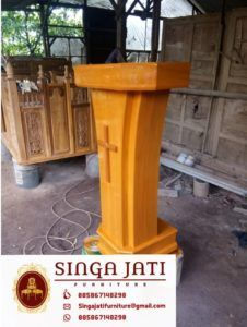 Mimbar Gereja Model Minimalis Harga Murah Kayu Jati Asli Online Furniture, Interior, Outdoor Decor, Home Decor, Indoor, Room Decor, Interiors, Home Interior Design, Home Decoration