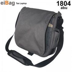 Tas Laptop 12 INCH EIBAG 1804 Abu model selempang dengan bahan luar menggunakan cordura dan bahan dalam menggunakan taslan krem. Pada paket penjualan sudah termasuk free cover bag. ini adalah tas laptop 12 inch produk EIBAG Bandung