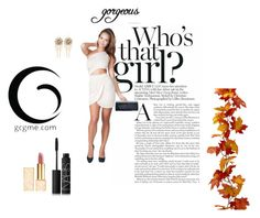 """@gcgme new collection"" by xicentely on Polyvore featuring mode, GCGme, Bebe, Tory Burch, NARS Cosmetics, Fall en gcgme"