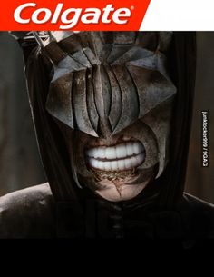 The mouth of sauron got some Colgate XD