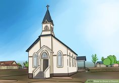 How to Draw a Church: 8 Steps (with Pictures) - wikiHow