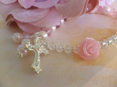 beautiful rosary bracelet