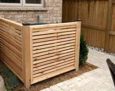 how to hide garbage cans - Google Search