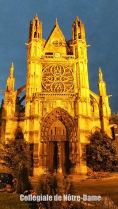 Collegiale Notre-Dame, Vernon, région d´Eure, Haute-Normandie, http://elisaorigami.blogspot.com