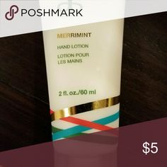New Arbonne hand lotion Merriment -new Other
