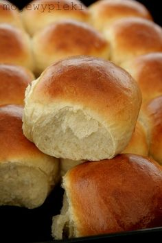 Bread Rolls, Creative Food, Food Porn, Food And Drink, Yummy Food, Healthy Recipes, Baking, Breads, Cook