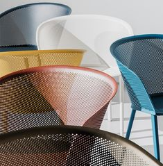Kettal Stampa chairs by Ronan and Erwan Bouroullec